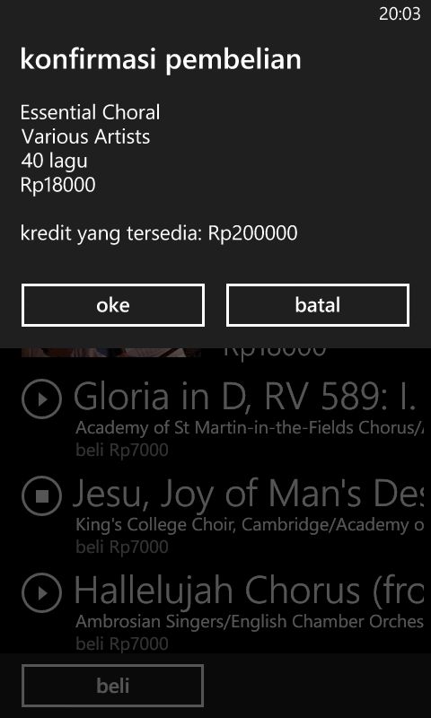 Cara Download Lagu di Windows Phone
