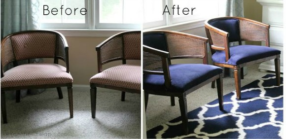 Lazy Girl's Guide to Reupholstering