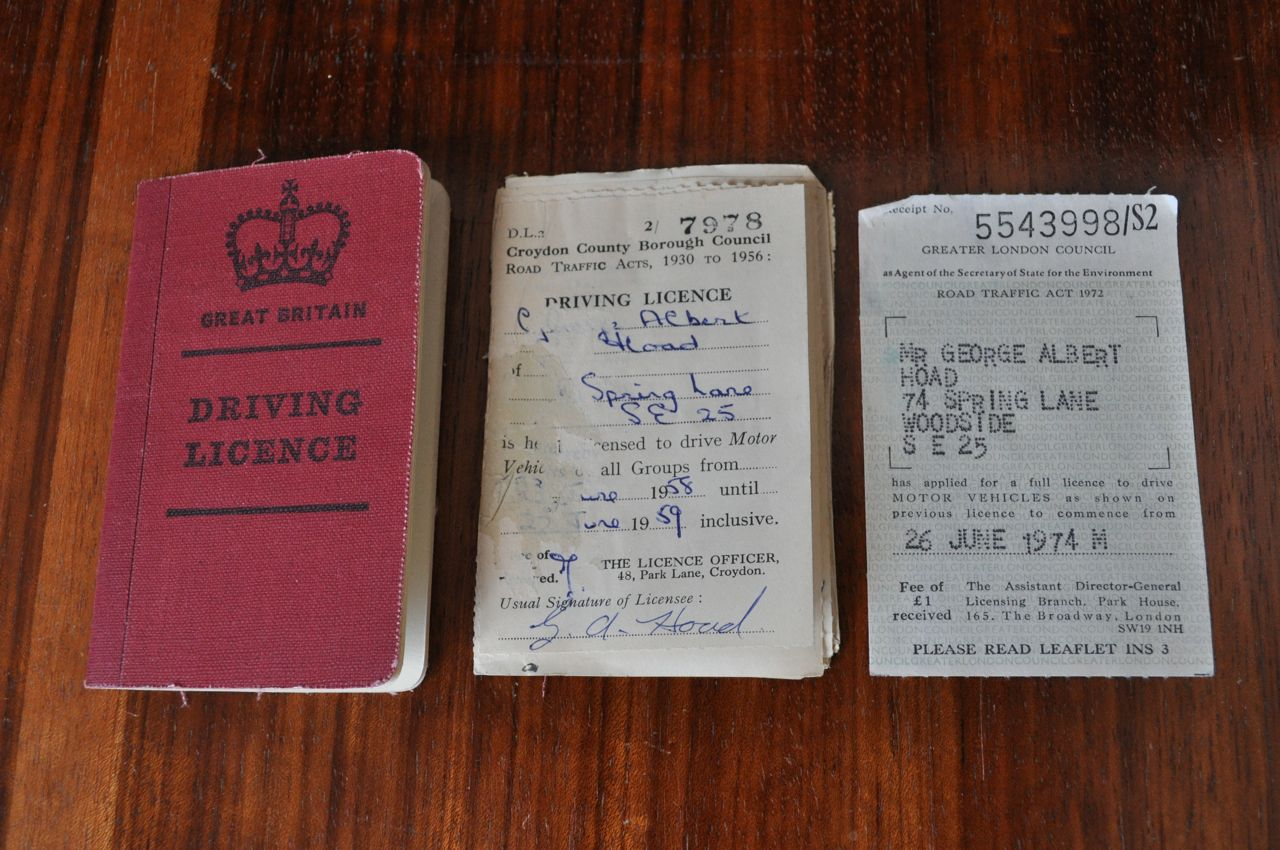 Monthly bureau mr hoad 39 s driving licence for Bureau licence