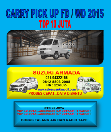 CARRY PICK UP FD WD TDP 10 JUTA