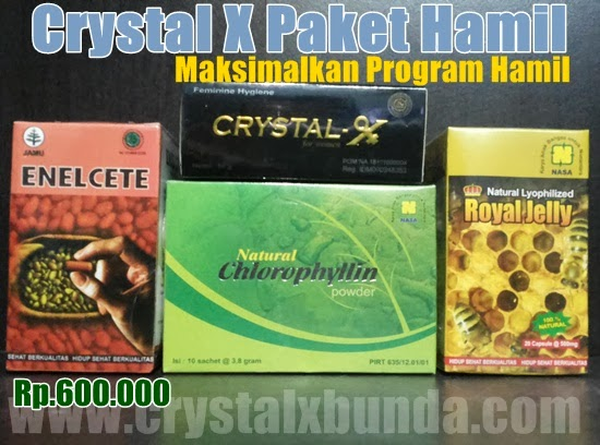 Paket program hamil Crystal X