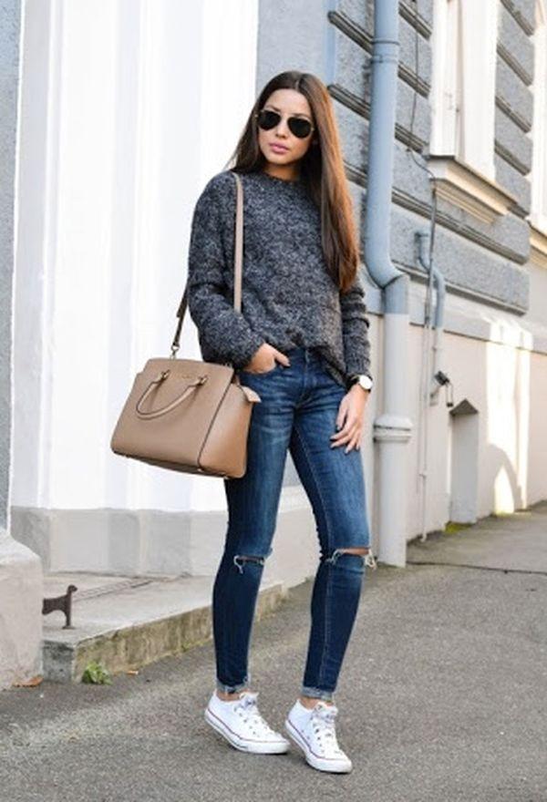 Moda en zapatillas
