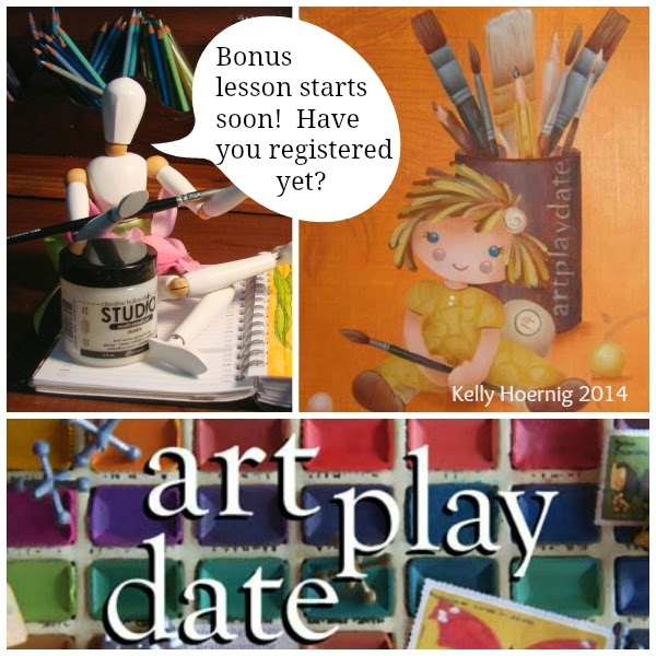 Information about the ART PLAY DATE event, Flora's Art Adventures, Online Art classes, Cindy Rippe, Kelly Hoernig