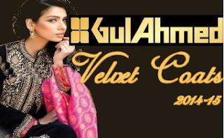 GulAhmad Velvet Coats 2014