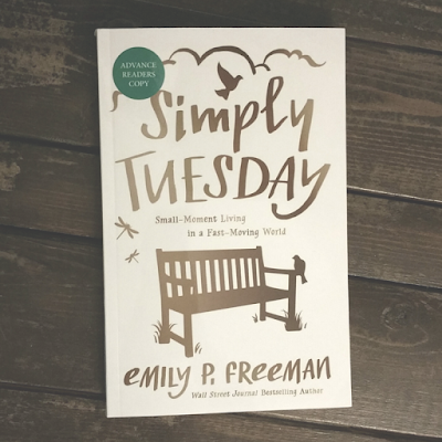 http://www.amazon.com/Simply-Tuesday-Small-Moment-Living-Fast-Moving/dp/0800722450