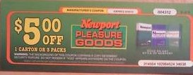 Free Newport Cigarettes Coupon