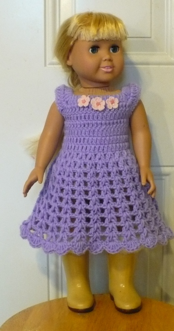 Crochet Patterns Doll Clothes : ... really like the neck so I created my own pattern. And here it is