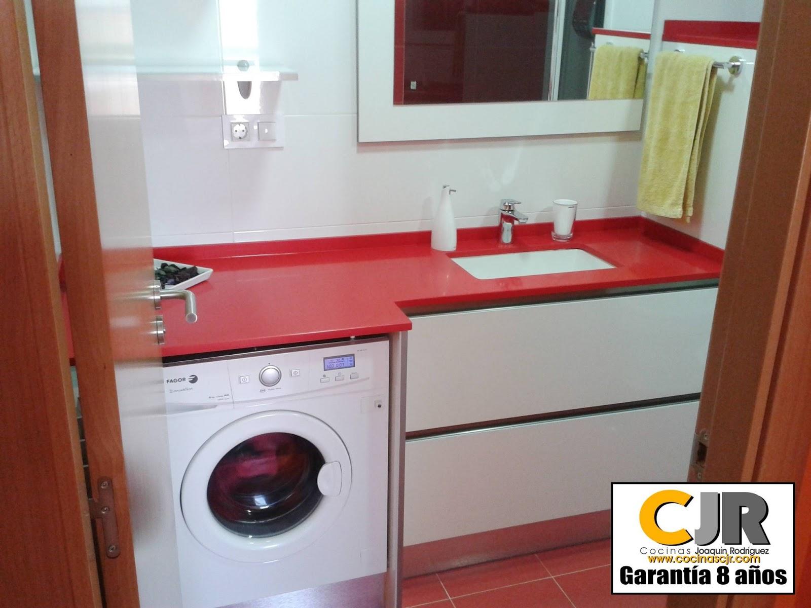 Reforma completa ba o cocinas cjr for Muebles para lavadoras en el bano