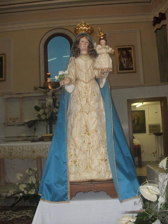 MARIA SS DELLA LIBERA RISTRUTTURATA E RIENTRATA AL SANTUARIO A FINE MAGGIO 2011