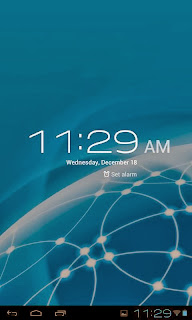 SKK Mobile Phoenix Tab 4 Clock