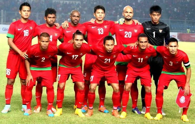Daftar Nama 23 pemain Timnas Indonesia Senior Piala AFF Suzuki Cup 2014