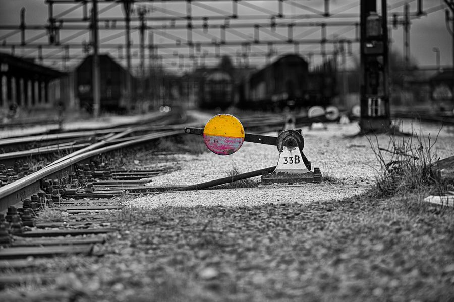 22. Railroad switch by Misho Jovicic