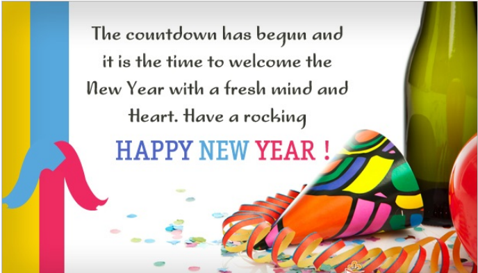 best wishes cards for happy new year