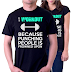 I Workout Because Punching People Is Frowned Upon T Shirt