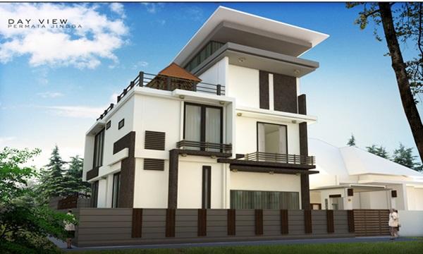 belajar desain jasa pembuatan gambar rumah tinggal yang
