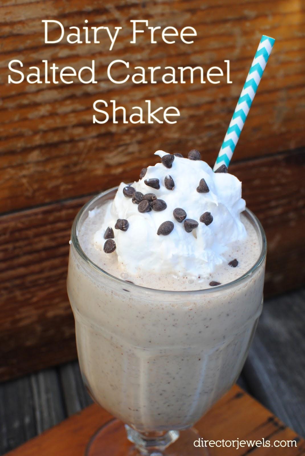 Director Jewels: Dairy Free Salted Caramel Shake
