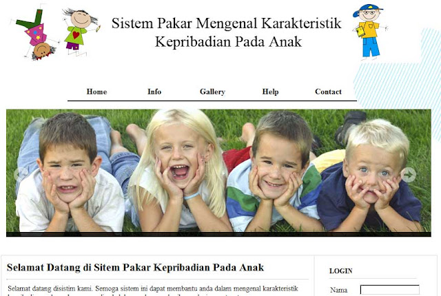 Sistem Pakar Karakteristik Kepribadian Pada Anak
