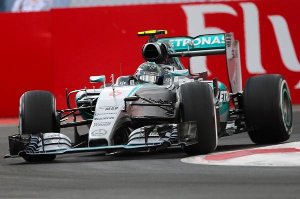 Nico Rosberg ganó el GP de México