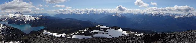 Panorama from Black Tusk summit