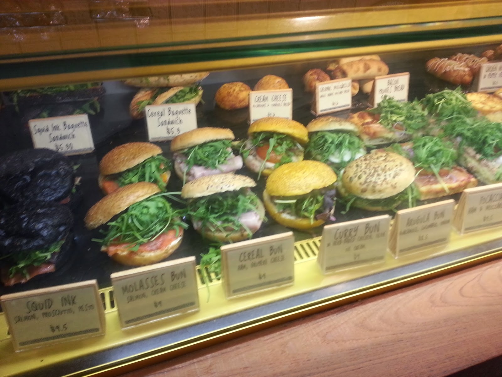 Delightful Look At The Array Of Buns Here At Tiong Bahru Bakery!