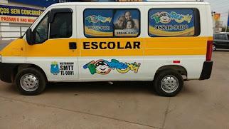 Transporte escolar em São Luis, é TIO REMY. 98 9 8846 9400. O original do Brasil