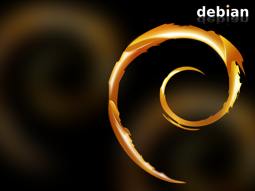 Download Wallpaper Desktop Distro Linux Debian 6