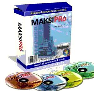 MAKSIPro Software Manajemen Kontruksi dan Estimasi Proyek