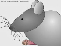 Muis Mouse line-art