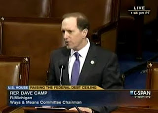 Chairman Dave Camp's Opening Statement on H.R. 1954 Opposing a Clean Increase to the Debt Ceiling