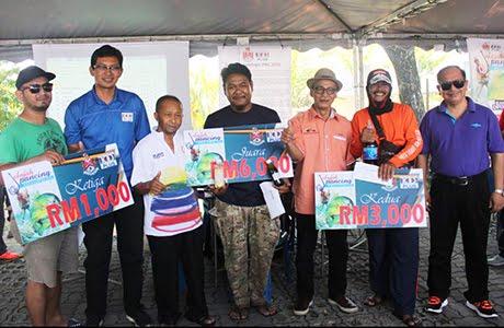 Tahniah pemenang Jelajah Pancing KL di Tasik Ampang Hilir