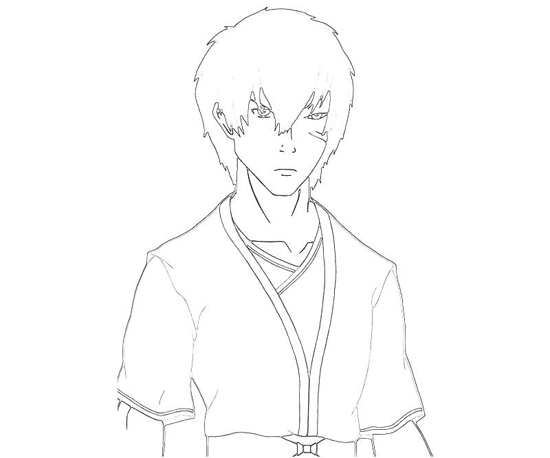 printable-avatar-zuko-character-coloring-pages