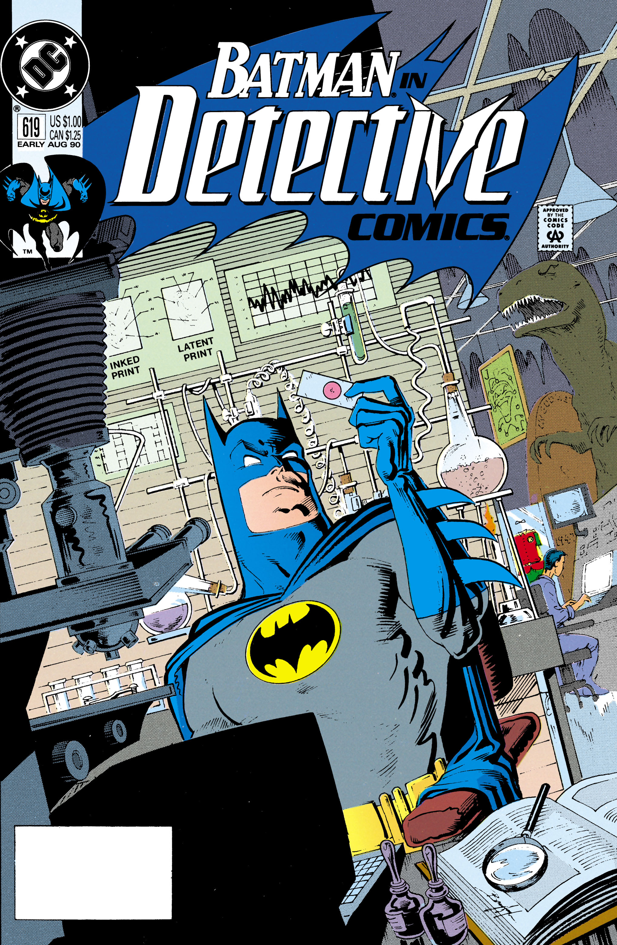 Detective Comics (1937) Issue #619 Page 1