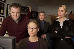 John C. Reilly, Jodie Foster, Christoph Waltz y Kate Winslet en Un dios salvaje