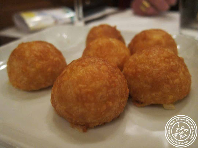 Image of Gougeres at  Benoit - NYC, New York - Alain Ducasse