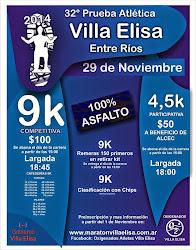 32º P.ATLETICA VILLA ELISA 9KM
