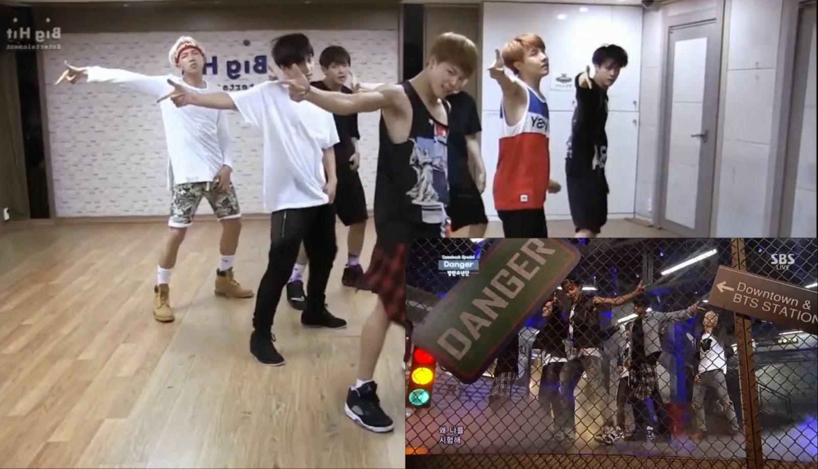 BTS Bangtan Boys: Danger - AREA51su Blog Video