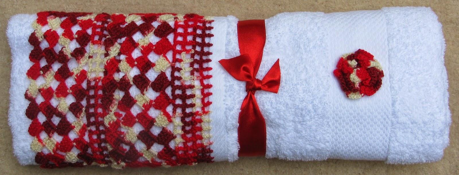 Decoracion De Baños Tejidos A Crochet:Tejidos a crochet: Toallas de baño
