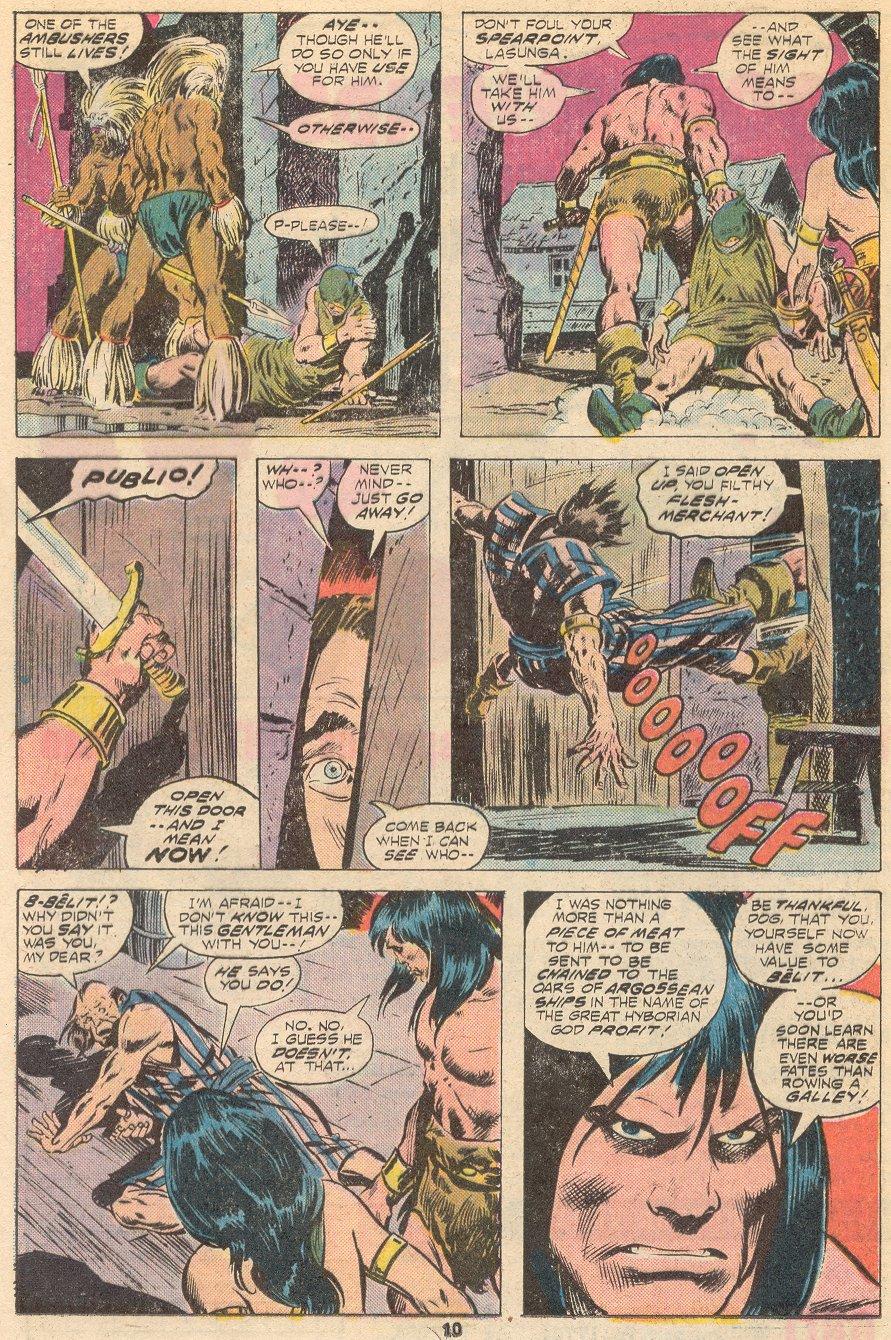 Conan the Barbarian (1970) Issue #66 #78 - English 7