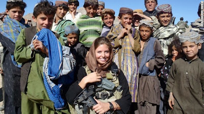 U.S. Army 1st Lt. Rachel Washburn