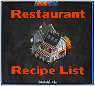 Restaurant Recipe List