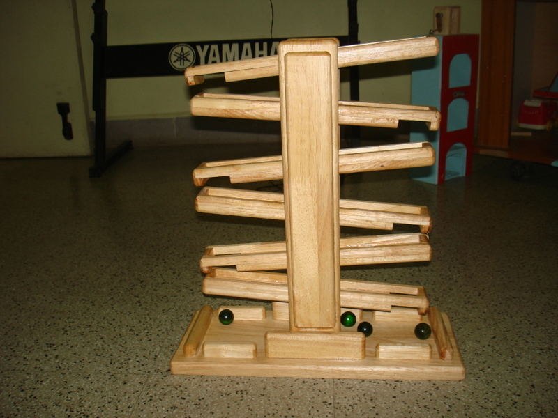 wood marble machine