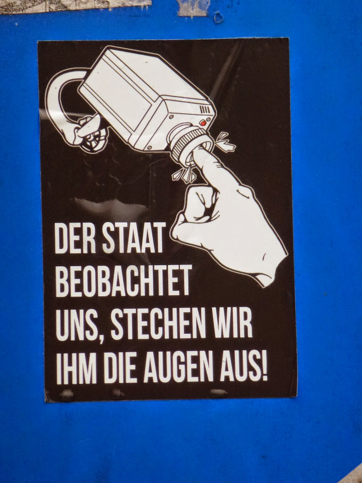 Streetart, Sticker