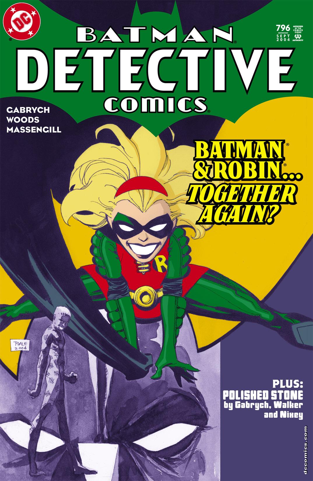 Detective Comics (1937) 796 Page 1