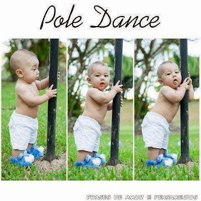 Pole Dance versão Kids Fofo