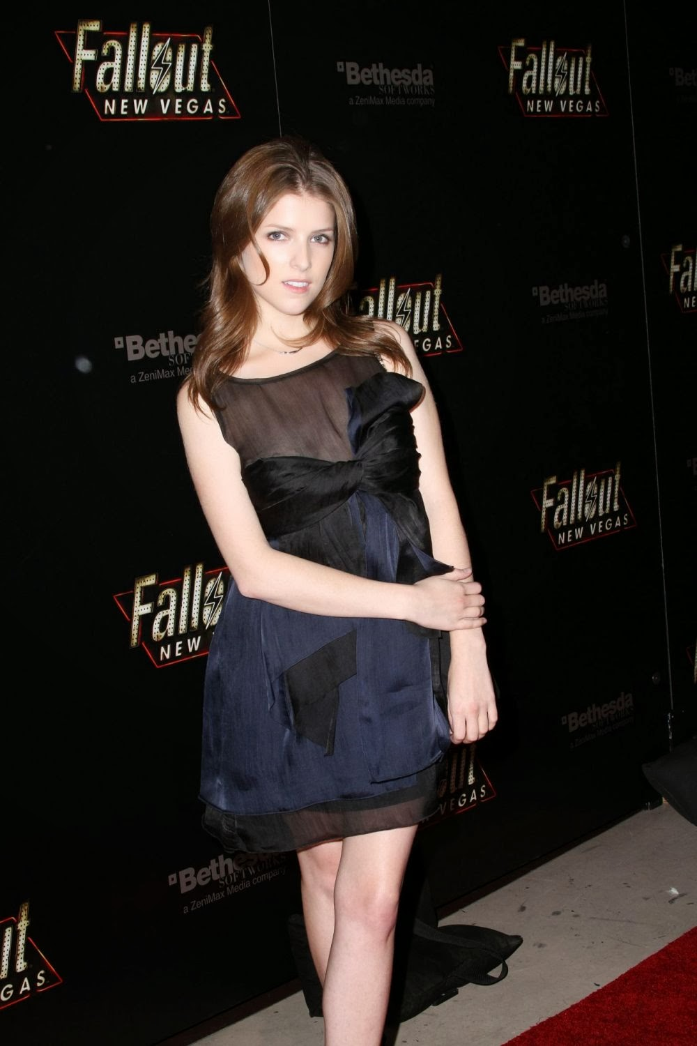 Anna Kendrick Nip Slip in 'Fallout: New Vegas' Launch Party