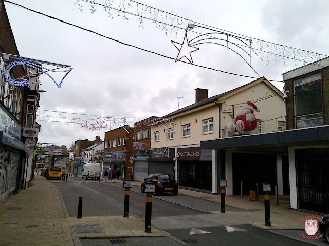 Christmas lights Oakengates
