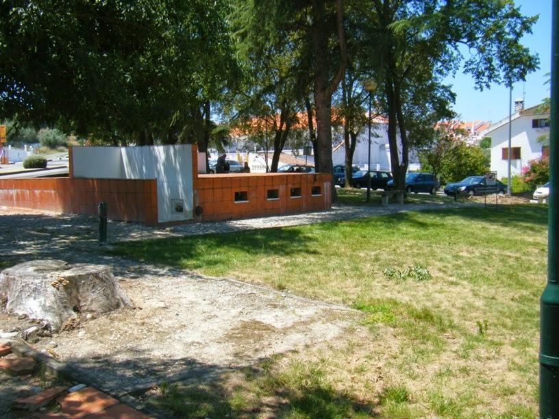 Parque de merendas em Mora