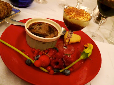 Chocolate three ways, One Mile Bakery Supper Club, Cardiff
