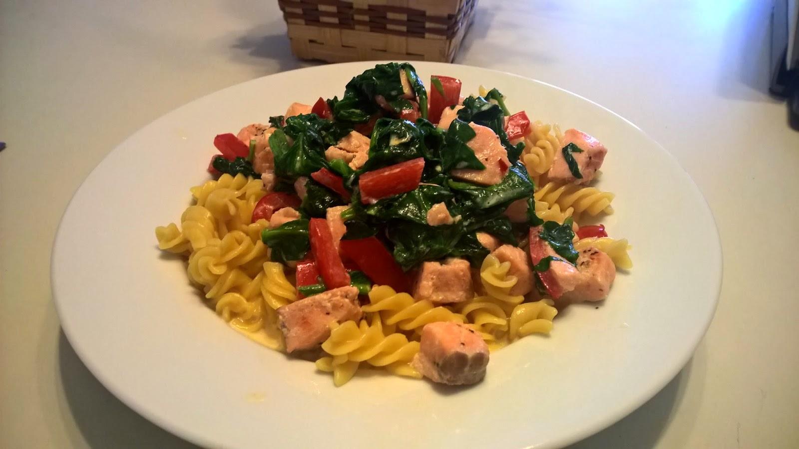 fodmap recept pasta