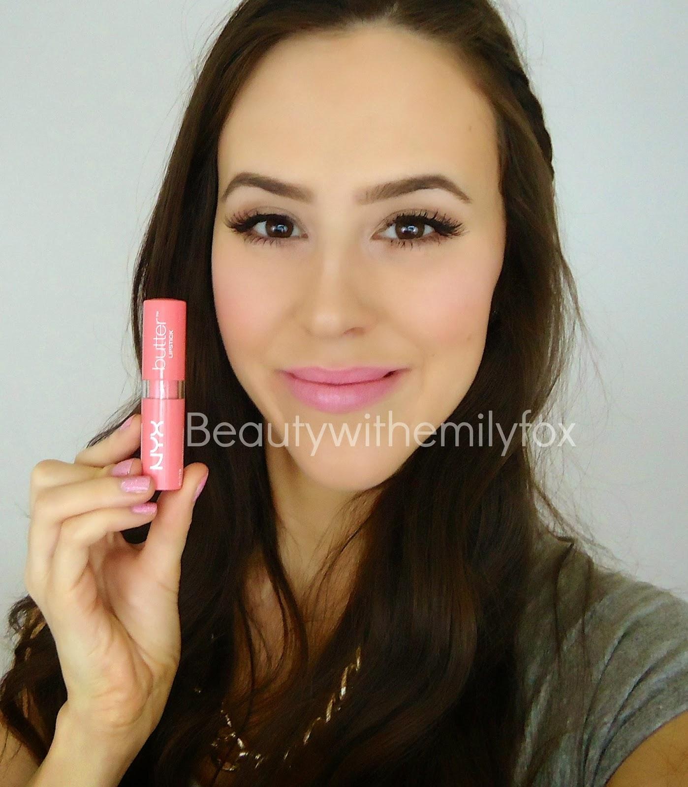 Beautywithemilyfox: NYX Butter Lipsticks Collection ...